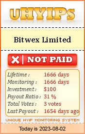 http://uhyips.com/hyip/bitwex-10033
