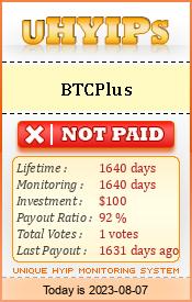 http://uhyips.com/hyip/btcplus-10105