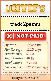 http://uhyips.com/hyip/tradexpamm-11365