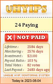 uhyips.com - hyip 24 paying