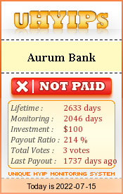 uhyips.com - hyip aurum bank
