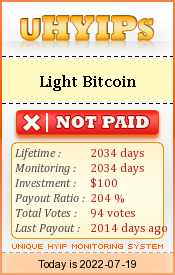 uhyips.com - hyip light bitcoin