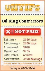 uhyips.com - hyip oil king contractors