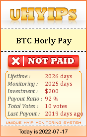 uhyips.com - hyip btc hourly pay