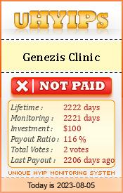Genezis Cliniс мониторинг 1